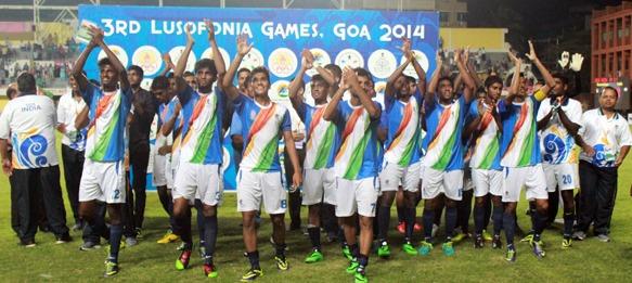 Goa-India football team