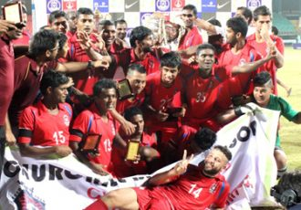 Churchill Brothers win maidan Federation Cup title