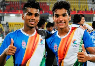 Goa-India stars Brandon Fernandes and Sahil Tavora