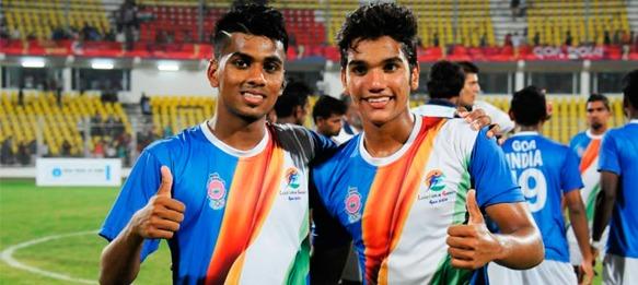 Goa-India stars Brandon Fernandes and Sahil Tavora