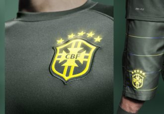 Nike Football presents Brazil national team third kit by Bruno Big