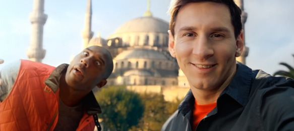 Kobe Bryant and Lionel Messi