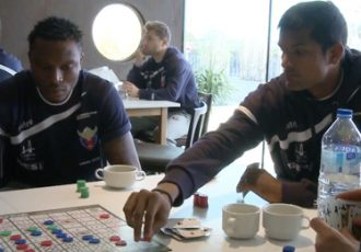 Subrata Pal & FC Vestsjælland players