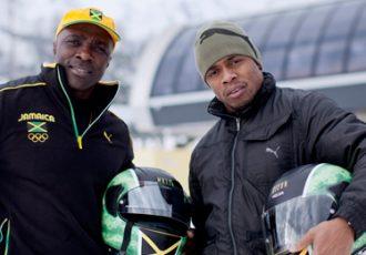 Jamaican Bob Sleigh team