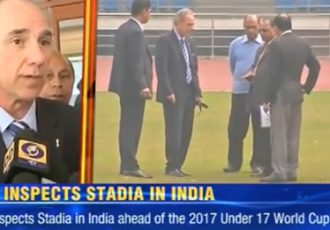 Times Now report on FIFA Inspection