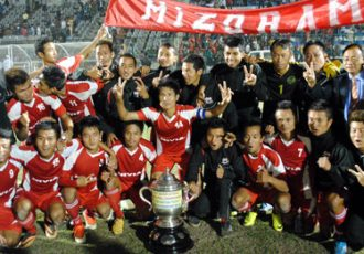 Mizoram - 68th Santosh Trophy 2014 Champions