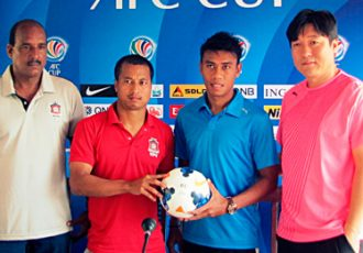 AFC Cup: Churchill Brothers SC v Home United - Pre-Match Press Conference