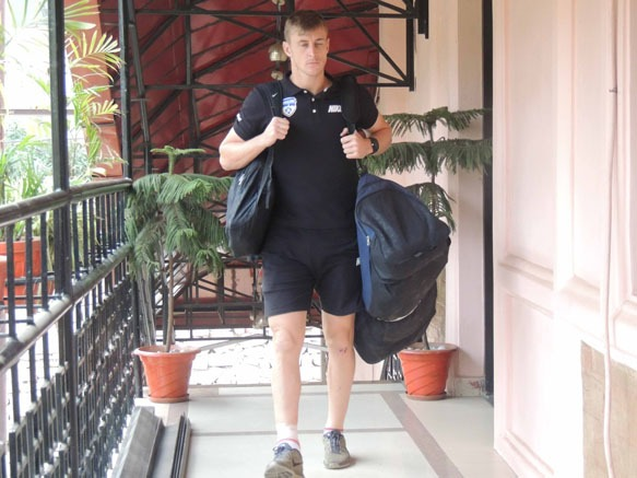 Bengaluru FC arrives in Shillong