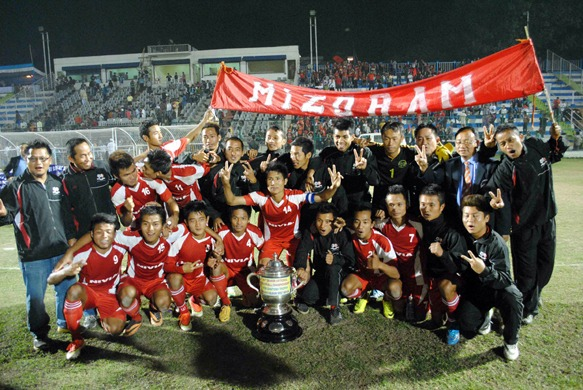 Mizoram – 68th Santosh Trophy 2014 Champions