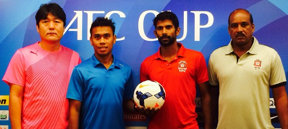 AFC Cup - Home United FC v Churchill Brothers SC - Press Conference
