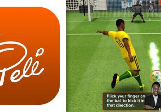 """Pele introduces official app named """"Pele: King of Football"""""""