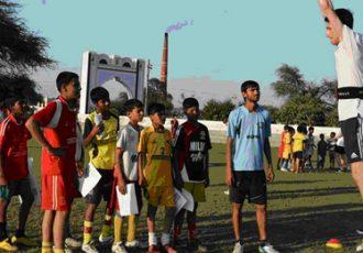 Coventry University Sports Scientists visits YFC Rurka Kalan
