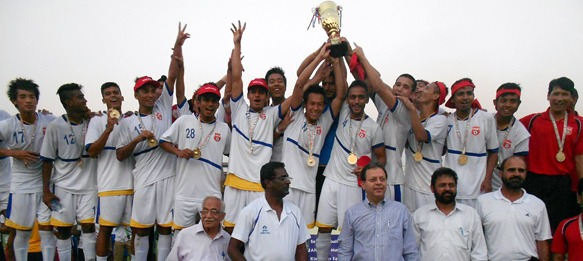 Tata Football Academy crowned U-19 I-League champions