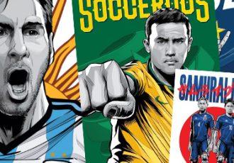 ESPN presents unique 2014 FIFA World Cup posters for all 32 teams