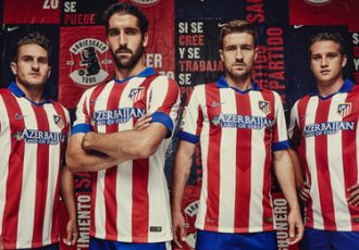 Atlético de Madrid and Nike unveil new 2014–15 home kit