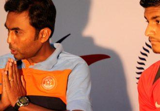India U-16 Goutam Ghosh and Prosenjit Chakraborty