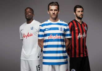 Nike and QPR unveil new kits for 2014-15 season