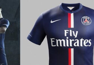 Nike and Paris Saint-Germain unveil new home kit for 2014-15 Season