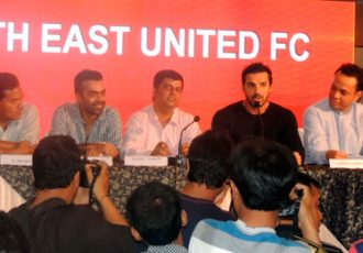 John Abraham launches ISL Guwahati franchise North East United FC