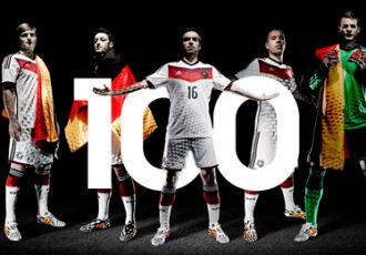 Germany become first federation to play 100 FIFA World Cup matches