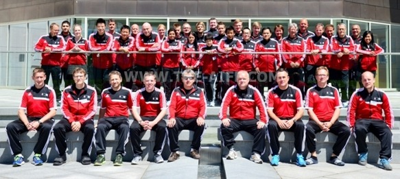 AIFF represents AFC in UEFA SGS at St. George's Park