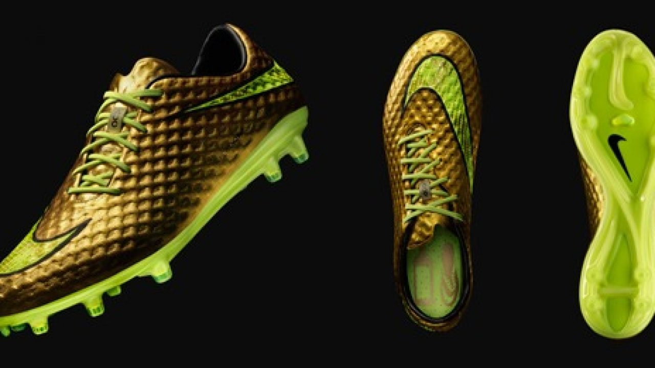 435541ab8 Neymar and Nike introduce Gold Hypervenom Special Edition » The Blog ...