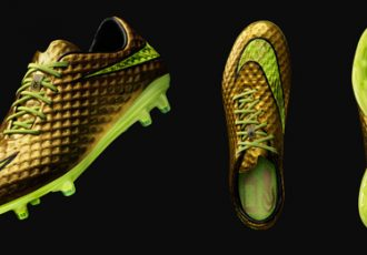 Neymar and Nike introduce Gold Hypervenom Special Edition