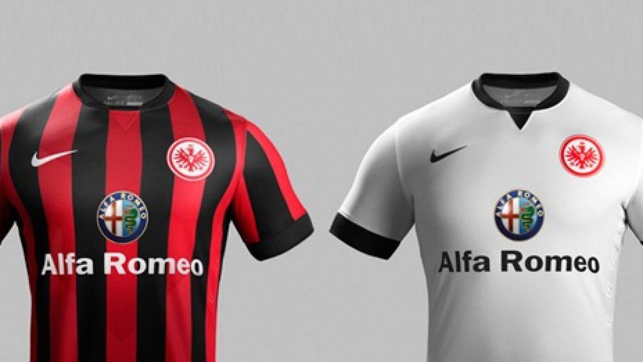 Eintracht Frankfurt and Nike unveil new kits for 2014 15
