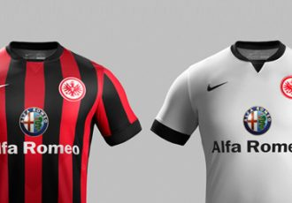 Eintracht Frankfurt and Nike unveil new kits for 2014-15 season