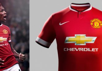 Nike and Manchester United unveil Home Kit for 2014-15 Season