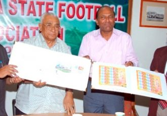 Karnataka State FA launches special World Cup stamp