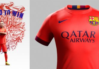 Nike and FC Barcelona unveil new Away Kit for 2014-15 Season