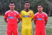 Aiborlang Khongjee, Rehnesh Thumbirumbu Paramba and David Ngaihte