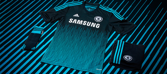 adidas and Chelsea FC launch 2014/15 third kit