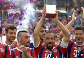 FC Bayern Munich win the Telekom Cup 2014