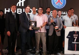 G.H.MUMM House of Champagne supports Paris Saint-Germain on their Asia Tour
