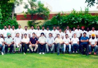 Punjab Football Association coaching course