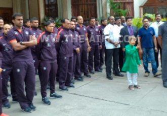 India U-23 national team celebrates India's 68th Independence Day