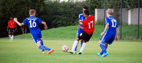 FC Schalke 04 U-16 1-0 India U-16