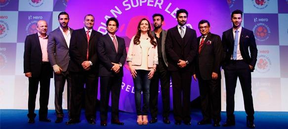 Hero Indian Super League launch