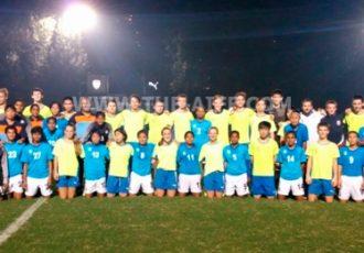 India Women's national team v Century Park FC