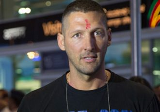 Marco Materazzi arrives in India