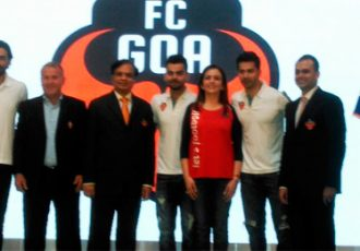 FC Goa presents new co-owner Virat Kohli and marquee player Robert Pires