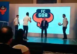 FC Goa's Zico, Pirès, Kohli & Dhawan enjoy kick-about