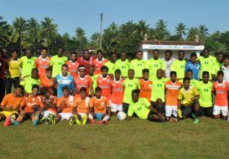 Sporting Clube de Goa XI v Nigerian All-Star XI