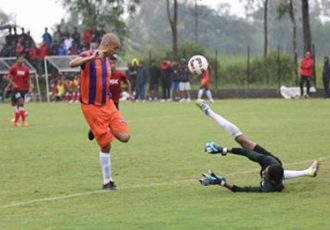 David Trezeguet in action for FC Pune City