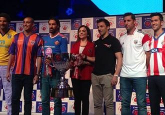 Hero Indian Super League (ISL) trophy