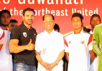 NorthEast United FC jersey launch