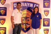 Mahendra Singh Dhoni with Vita Dani
