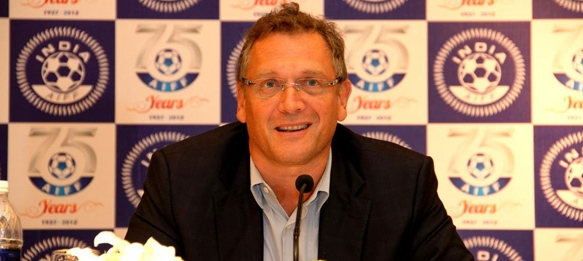 Jérôme Valcke in India